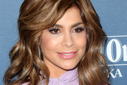 Paula Abdul Medium Wavy Cut with Bangs