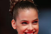 Barbara Palvin Braided Bun