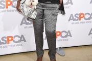 Star Jones Print Pants