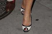Joan Collins Peep Toe Pumps