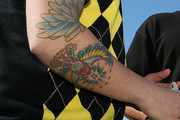 Nick Lachey Animal Tattoo