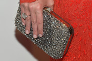 Nicky Hilton Gemstone Inlaid Clutch