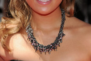 Nicole Anderson Silver Statement Necklace