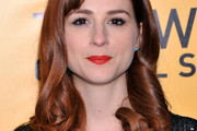 Aya Cash Medium Curls with Bangs