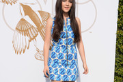 Isabelle Fuhrman Print Dress
