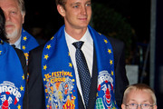 Pierre Casiraghi Dotted Tie