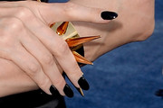 Angelina Jolie Dark Nail Polish