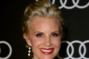 Monica Potter Messy Updo