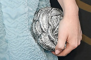 Kaitlyn Dever Metallic Clutch