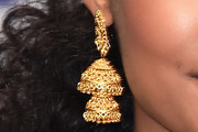 Yara Shahidi Gold Dangle Earrings