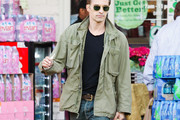 Olivier Martinez Military Jacket