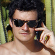 Orlando Bloom Wayfarer Sunglasses