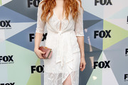 Rachelle Lefevre Lace Dress