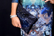 Paris Hilton Sequined Clutch