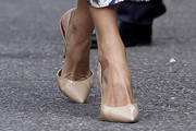 Queen Letizia of Spain Slingbacks