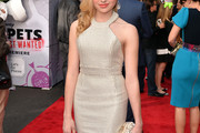 Peyton List Halter Dress