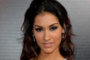 Janina Gavankar Long Wavy Cut