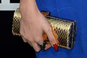 Pia Mia Perez Metallic Clutch