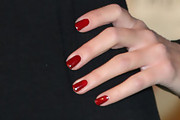 Lucy Pinder Red Nail Polish