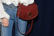 Dree Hemingway Leather Shoulder Bag