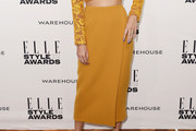 Poppy Delevingne Pencil Skirt