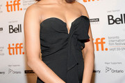Priyanka Chopra Strapless Dress