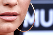 Demi Lovato Gold Hoops