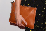 Erin Richards Leather Clutch