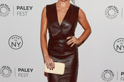 Sarah Shahi Leather Dress