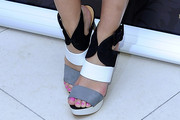 Micaela Schaefer Strappy Sandals