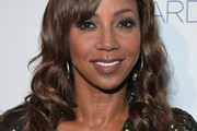 Holly Robinson Peete Long Curls with Bangs
