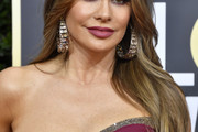 Sofia Vergara Feathered Flip