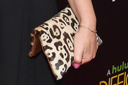 Amy Poehler Printed Clutch