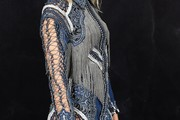 Karolina Kurkova Fringed Dress