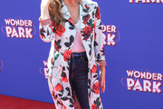 Connie Britton Printed Coat