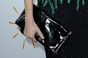 Madison Walls Patent Leather Clutch