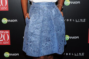 Keke Palmer Knee Length Skirt