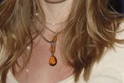 Rachel Nichols Gemstone Lariat Necklace