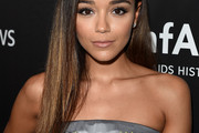 Ashley Madekwe Long Straight Cut
