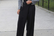 Solange Knowles High-Waisted Pants