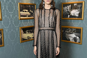 Stacy Martin Beaded Dress