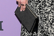 Anne Hathaway Leather Clutch