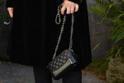 Monica Bellucci Quilted Leather Bag
