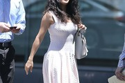 Salma Hayek Day Dress