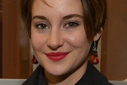 Shailene Woodley Geommetric Earrings