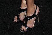 Shannen Doherty Strappy Sandals