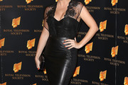 Sheridan Smith Leather Dress