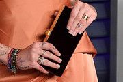Paris Jackson Velvet Clutch