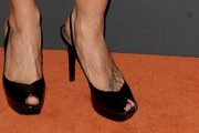 Spencer Grammer Peep Toe Pumps