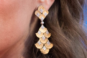 Eleonora Carisi Gold Chandelier Earrings